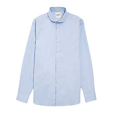 Buy Ben Sherman Tailoring Plain Poplin Long Sleeve Shirt, Blue Online at johnlewis.com