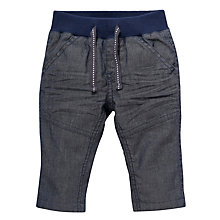 Buy John Lewis Ribbed Waist Jeans, Grey/Blue Online at johnlewis.com