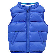 Buy John Lewis Padded Gilet, Blue Online at johnlewis.com