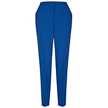 Buy Hobbs Brunswick Trousers, Bluebell Online at johnlewis.com