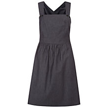 Buy NW3 by Hobbs Leah Dress, Chambray Blue Online at johnlewis.com