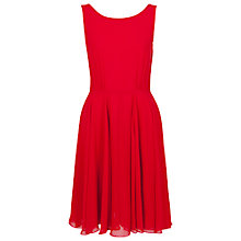 Buy French Connection Winter Spells Flare Dress, Royal Scarlet Online at johnlewis.com