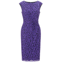Buy Adrianna Papell Wrap Sheath Dress, Hyacinth Online at johnlewis.com