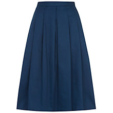 Buy Hobbs Lisa Skirt, Peacock Blue Online at johnlewis.com