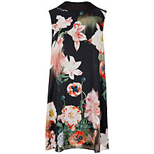 Buy Ted Baker Collar Detail Reversible Tunic Dress, Black Online at johnlewis.com