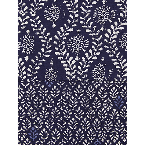 Buy White Stuff Shibori Tee, Dark Periwinkle Online at johnlewis.com