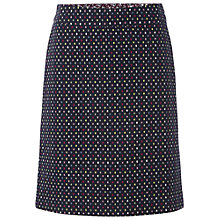 Buy White Stuff Paint By Numbers Skirt, Dark Blue Velvet Online at johnlewis.com