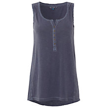 Buy White Stuff Topaz Vest, Moonlight Blue Online at johnlewis.com
