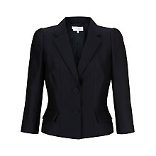 Buy Hobbs Bella Jacket, Navy Online at johnlewis.com