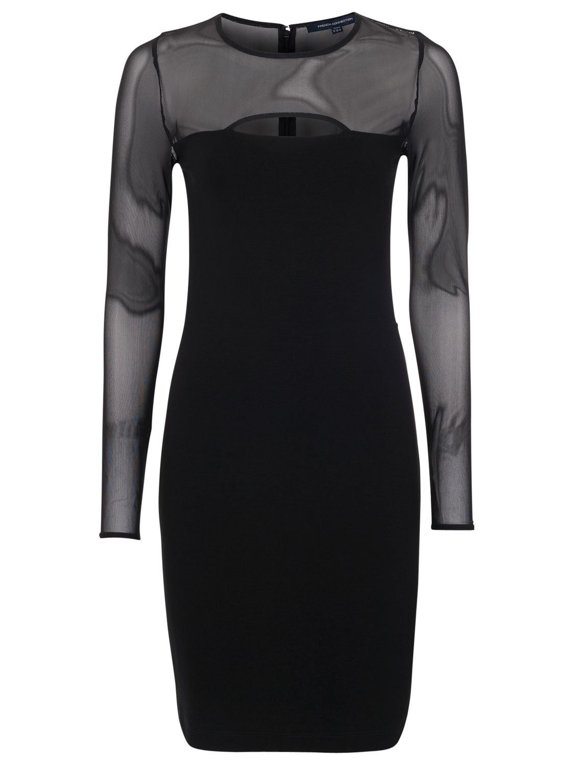 french connection valentine viscose round neck dress black, french, connection, valentine, viscose, round, neck, dress, black, french connection, 10|8|6, clearance, womenswear offers, womens dresses offers, new years party offers, women, inactive womenswear, new reductions, womens dresses, special offers, edition magazine, little black dress, 1579347