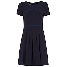 Buy NW3 by Hobbs Peacock Dress, Peacock Navy Online at johnlewis.com
