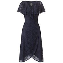 Buy Adrianna Papell Crochet Dress, Navy Online at johnlewis.com