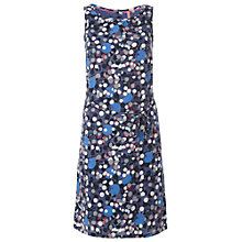 Buy White Stuff Dotty Belle Dress, Dark Blue Velvet Online at johnlewis.com