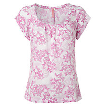 Buy White Stuff Sunshine Top, Hibiscus Pink Online at johnlewis.com