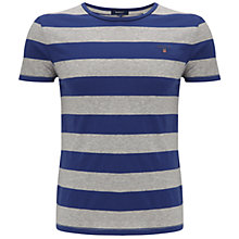Buy Gant Barstripe Crewneck T-Shirt Online at johnlewis.com