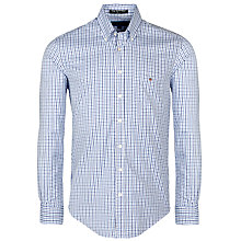 Buy Gant Lobby Oxford Pinpoint Shirt, Luminly Blue Online at johnlewis.com