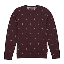 Buy Ted Baker Breakme Paisly Embroidered Sweatshirt Online at johnlewis.com