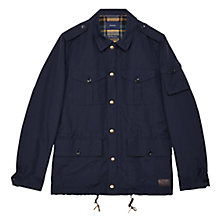 Buy Gant Fielder Jacket, Dark Blue Online at johnlewis.com