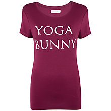 Buy Manuka Yoga Bunny Short Sleeve T-Shirt Online at johnlewis.com