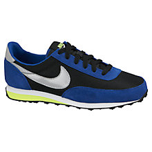 Buy Nike Children's Elite SI Trainers, Blue/Black Online at johnlewis.com