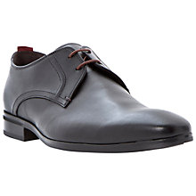 Buy Bertie Rambled Gibson Leather Shoes, Black Online at johnlewis.com