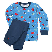 Buy Polarn O. Pyret Children's Planet Pyjamas Online at johnlewis.com