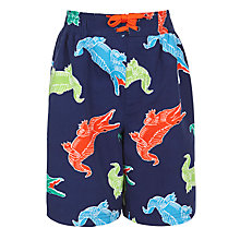 Buy John Lewis Boy Alligator Board Shorts Online at johnlewis.com