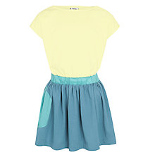 Buy Kin by John Lewis Colourblock Jersey Dress, Yellow/Green Online at johnlewis.com