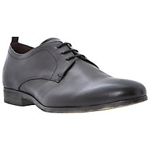 Buy Bertie Rally Leather Gibson Shoes, Black Online at johnlewis.com