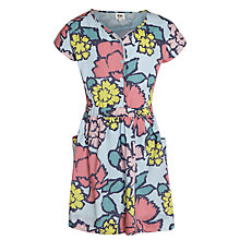 Buy Kin by John Lewis Girls' Floral Button-Through Dress, Multi Online at johnlewis.com