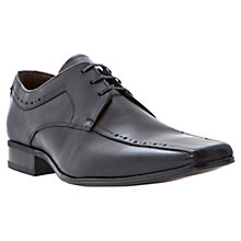 Buy Bertie Regents Place Tramline Derby Shoes, Black Online at johnlewis.com