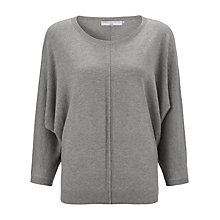 Buy John Lewis Capsule Collection Batwing Jumper, Grey Online at johnlewis.com