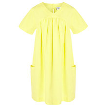 Buy Kin by John Lewis Short Sleeve Block Dress, Yellow Online at johnlewis.com