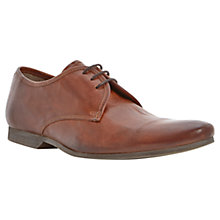 Buy Dune Ricky Plain Toe Cap Derby Shoes, Tan Online at johnlewis.com
