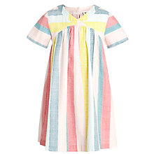 Buy Kin by John Lewis Girls' Stripe Mix Dress, Multi Online at johnlewis.com
