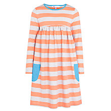 Buy John Lewis Girl Stripe Jersey Dress, Sunset Online at johnlewis.com