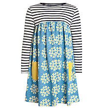 Buy John Lewis Girl Half and Half Floral Circle Dress Online at johnlewis.com