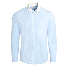 Buy Dockers End On End Long Sleeve Shirt, Beautiful Blue Online at johnlewis.com