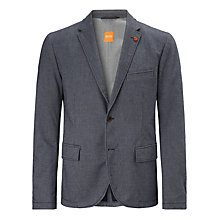 Buy BOSS Orange Beneslim Blazer, Graphite Online at johnlewis.com