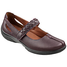 Buy Hotter Made in England Shake Adjustable Strap Leather Shoes Online at johnlewis.com