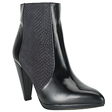 Buy Collection WEEKEND by John Lewis Amanda Leather Ankle Boots, Black Online at johnlewis.com