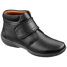 Buy Hotter Made in England Daydream Extra Wide Fit Leather Ankle Boots, Black Online at johnlewis.com