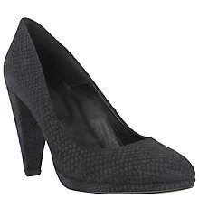Buy COLLECTION by John Lewis Lauren Leather Court Shoes, Black Online at johnlewis.com