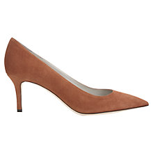 Buy Jigsaw Milly Suede Court Stiletto Heels Online at johnlewis.com