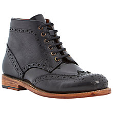 Buy Bertie Pollard Leather Brogue Boots Online at johnlewis.com