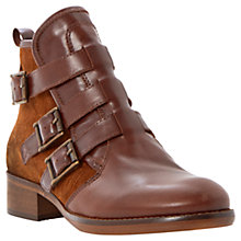 Buy Bertie Podd Leather Buckled Ankle Boots Online at johnlewis.com