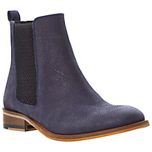 Buy Bertie Palace Leather Chelsea Boots, Navy Online at johnlewis.com