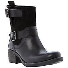 Buy Bertie Portos Buckle Detail Leather Calf Boots Online at johnlewis.com