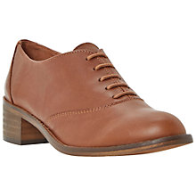 Buy Bertie Lotini Leather Patent Contrast Lace-Up Oxford Shoes, Tan Online at johnlewis.com