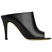 Buy L.K. Bennett Charlen Leather Slip On Court Shoes Online at johnlewis.com